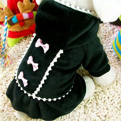 Small Pet Coat Dog  Winter Hoodie Jacket Clothes Puppy Cat Sweater Coat Apparel