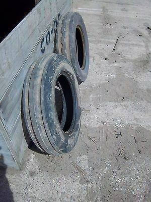 Tractor front tyres pair Size 600/16