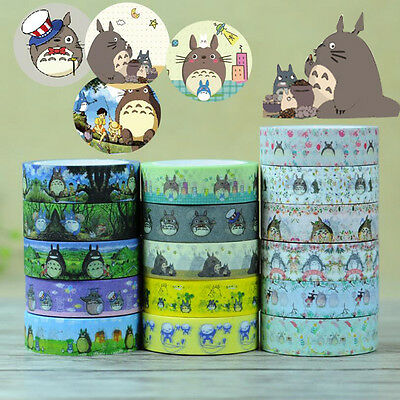 My Neighbor Totoro Japanese Washi Adhesive Stationery Craft Tape Sticker DIY