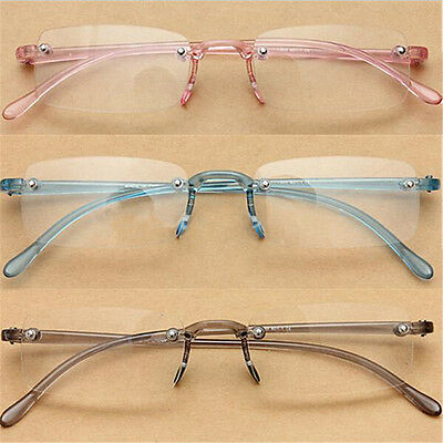 Lunette Loupe De Lecture Plastique Reading Glasse Rose Bleu Gris+1+1.5+2+2.5+3+4
