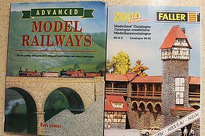 Faller - Model Railway Catalogue 2000 and Advanced Model Railways By Dave Lowery