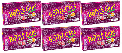 901822 BOX OF 6 x 141.7g WONKAS BOTTLE CAPS THEATRE BOXES - MADE IN THE USA!
