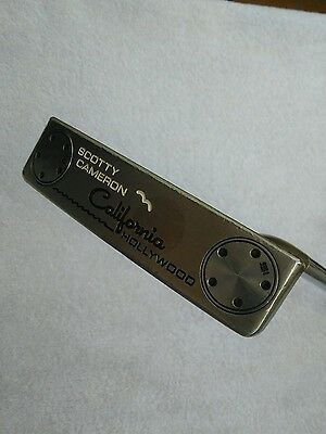 "SCOTTY CAMERON TITLEIST CALIFORNIA HOLLYWOOD  34""   con funda"
