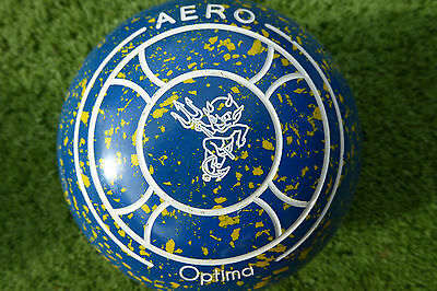 Aero Optima Size 3.5H Lawn Bowls WB23 non gripped excellent condition