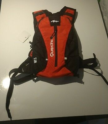 Hydration Water Bag Pack Rucksack Cycling Hiking 1L Bladder Backpack QUECHUA