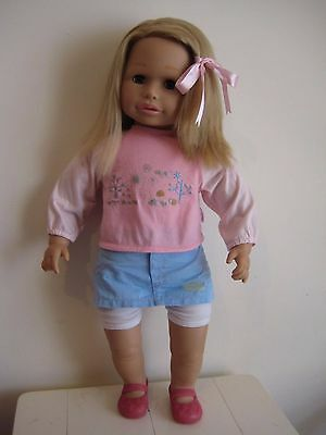 Large 65cm 2008 Zapf Creations Sally Toddler Doll