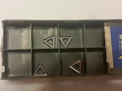 Iscar Tcgt 2-1-As Ic20 Carbide Inserts Lot Of 4 Pcs