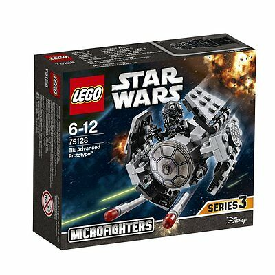 Lego Star Wars 75128 TIE Advanced Prototype (Series 3)-Brand new, free delivery