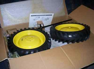 John Deere Pedal Tractor Dual Wheel Kit by ERTL NIB