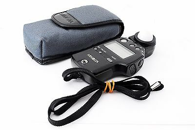 Minolta Auto Meter IV F Ambient/Flash Light Meter [Excellent] w/Case from JAPAN