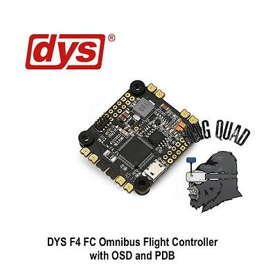 DYS F4 Flight Control 3 ~ 6s Integrated with OSD 5V BEC & Current Sensor