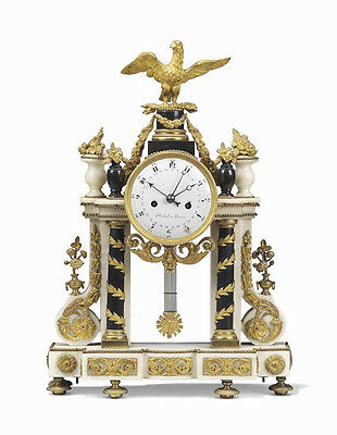 Louis XVI Bracket/Portico clock C1780