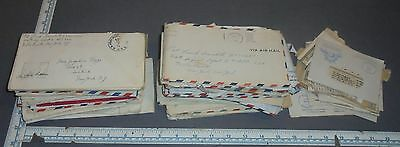 1944 1945 Pfc Army Air Mail V Mail Letters Home Lot War Era Private First Class