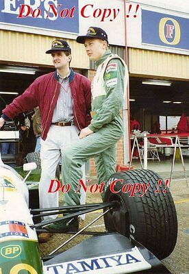 Mika Hakkinen Lotus 102B British Grand Prix 1991 Photograph 1