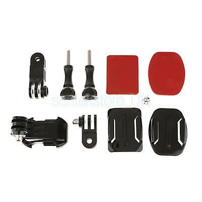 Adjustment Curved Adhesive Helmet Mount Accessories Kits for GoPro Hero 3+ 4