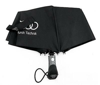 Audi Genuine Leather Big Sun Rain Umbrella Anti UV Frenches Royal Umbrella Gifts