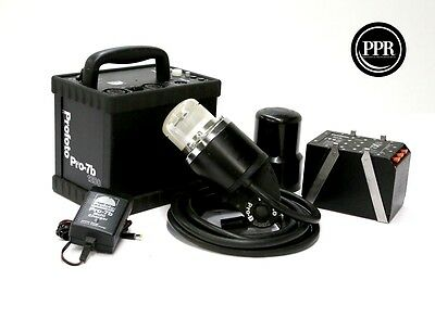 Profoto Pro 7B 1200ws Power Supply With Pro B Head Kit With battery and Charger
