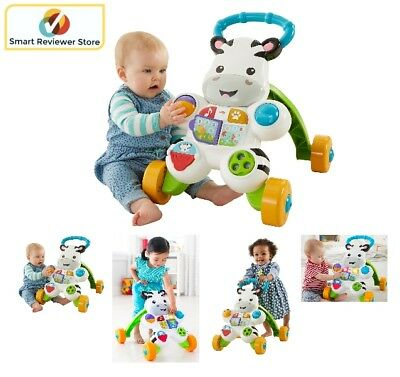 Baby Walker Assistant Stand Learning Activity Panel Toddler Play Center Fun Toy