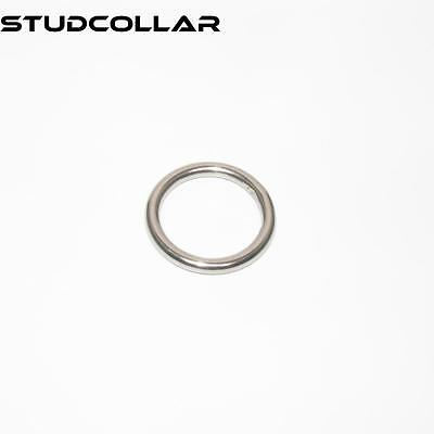 studcollar -glans-rings - Metal Acero Inoxidable Anillos - 25mm ID O 30mm ID