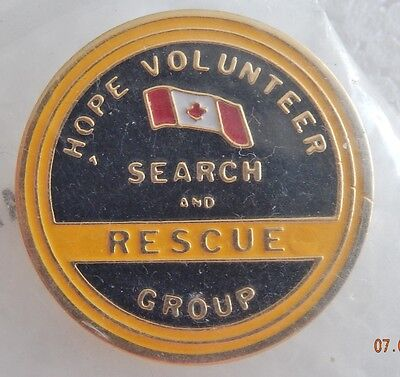 Hope Volunteer Search and Rescue Pin