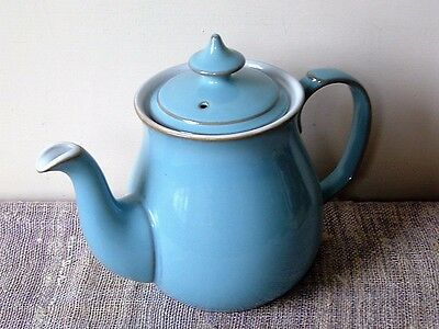 Denby Colonial Blue Teapot In Excellent Barely Used Condition, May Be A Second