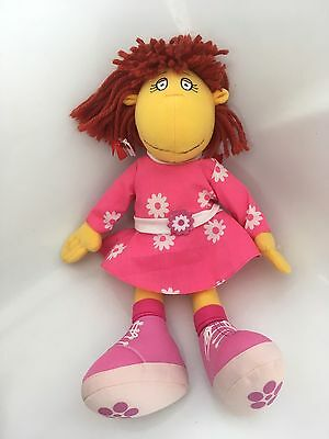 Tweenies BBC CBeebies Fizz In Fink Flowery Dress and Matching Knickers Soft Toy