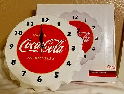 Bottle cap Coca Cola wall clock