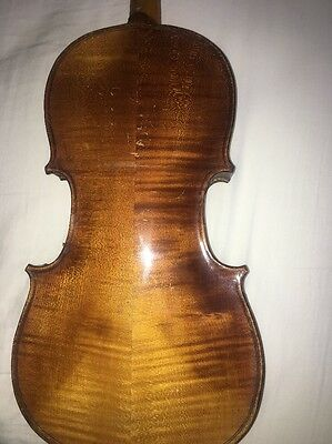 old antique vintage violin