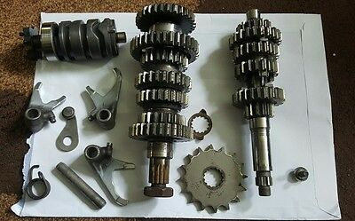 Yamaha DT125R 3BN Engine Gear Box