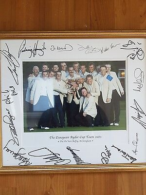 ryder cup photo 2001