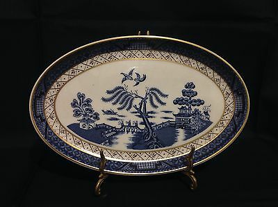 """Royal Doulton BOOTHS """"Real Old Willow"""" Oval Plate"""