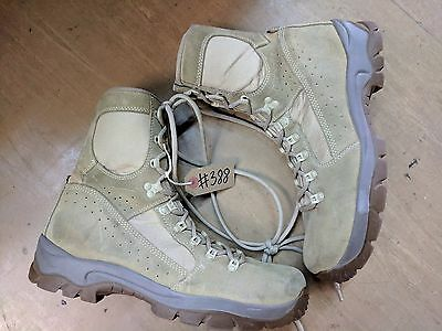 Original Army Issue Leather Meindl MTP Desert Fox Combat Boots Size 10 UK #388