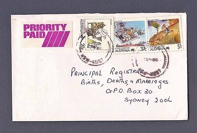 1988 ERINA NSW priority paid commercial cover Living Together