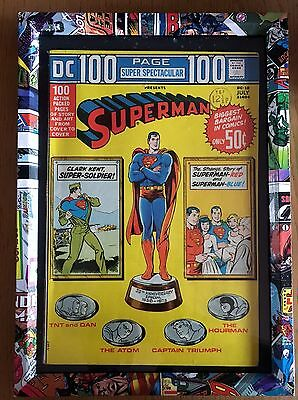 DC Frame with DC's 100-Page Super Spectacular Superman Comic #1