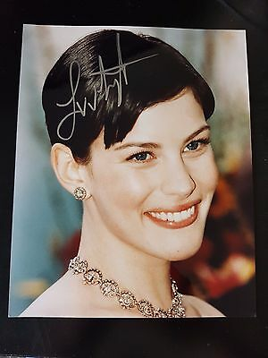 Liv Tyler Actress Armageddon Signed Autographed 8x10 Photo w/coa
