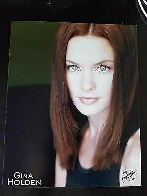 Gina Holden Actress Saw Final Destination Signed Autographed 8x10 Photo w/coa