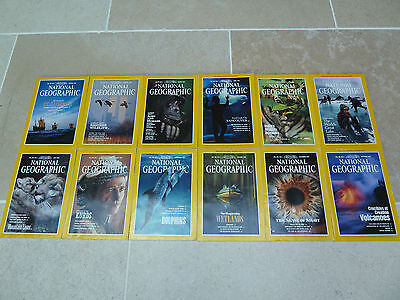 National Geographic Magazine 1992 Collection