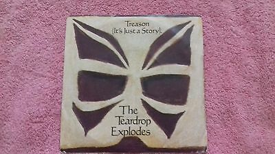 """The Teardrop Explodes Treason (It's Just A Story) 7"""" Picture Sleeve Single"""