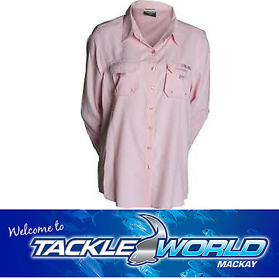 Shimano Vented Ladies Long Sleeve Fishing Shirt Tackle World
