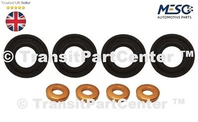 Rondelle Oring Set 1204698 FORD FIESTA 1.4 TDCI DURATORQ 4x Fuel Injector Seal