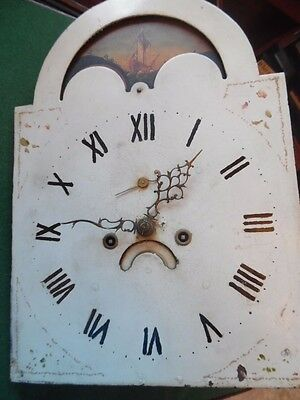 Victorian Grandfather Clock Moonphase Works