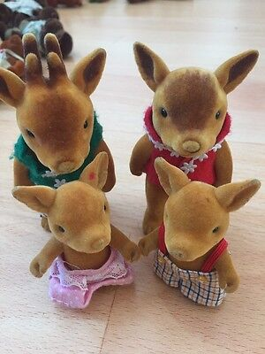 Forest Friends LIKE SYLVANIAN FAMILIES DEER FAMILY RARE
