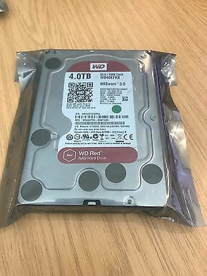 "Western Digital WD Red 4TB,Internal,5400 RPM,8.89 cm (3.5"") (WD40EFRX) Hard Driv"