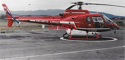Roger Chenard Signed Real Photo - Aerospatiale Eurocopter Ecureuilv Helicopter