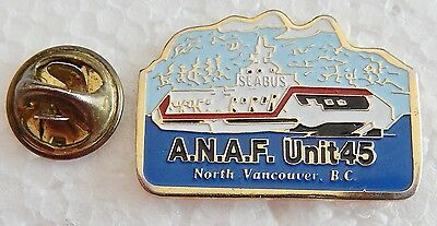 Army, Navy, Air Force Unit 45 North Vancouver Pin
