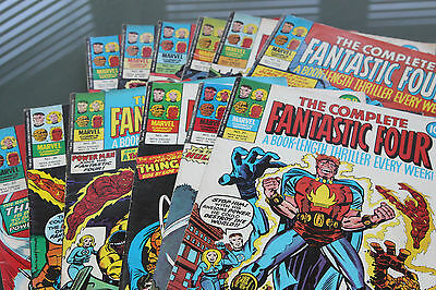 The Complete Fantastic Four Issues 26-37 Inclusive - 1978