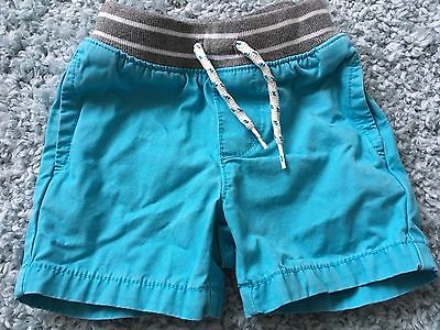 Gap Baby Boys Blue Elasticated Shorts 12-18m