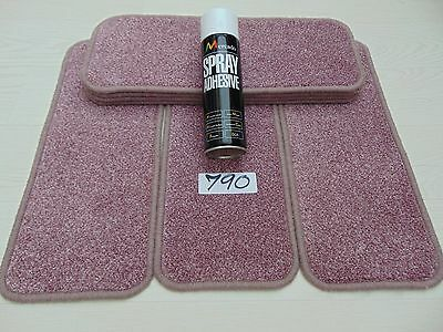 Carpet Stair pads Mats Carpet treads 7 off and a FREE can of SPRAY GLUE 790-8