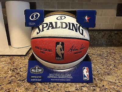 Spalding 2017 NBA New Orleans NOLA All Star Game Money Ball Basketball