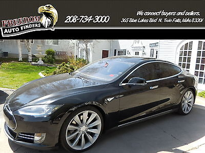 2012 Tesla Model S Signature Performance 2012 Black P85 Signature Performance!